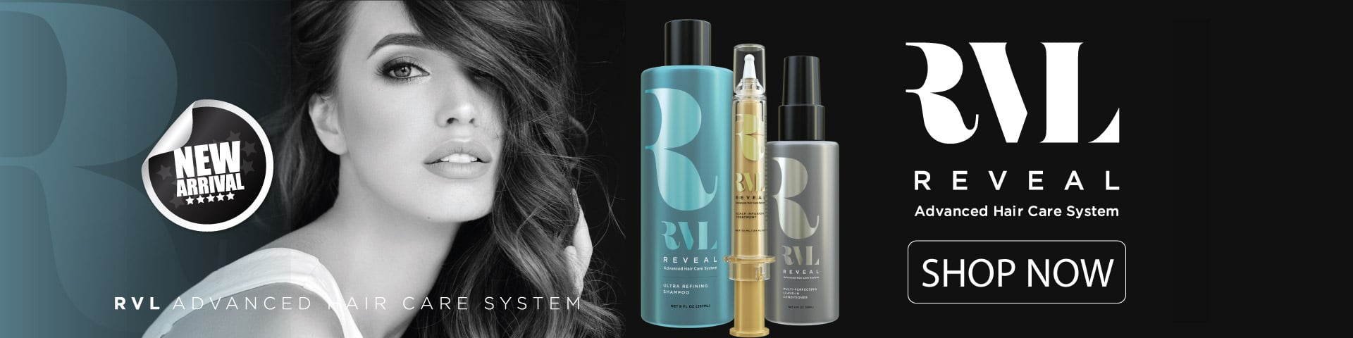 RVL by Jeunesse, Advanced Hair Care System, Grow Thicker Fuller Hair, Stem Cell Shampoo