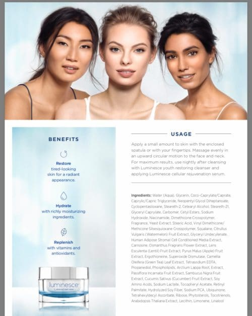 Luminesce-Advanced-Night-Repair-Ingredients